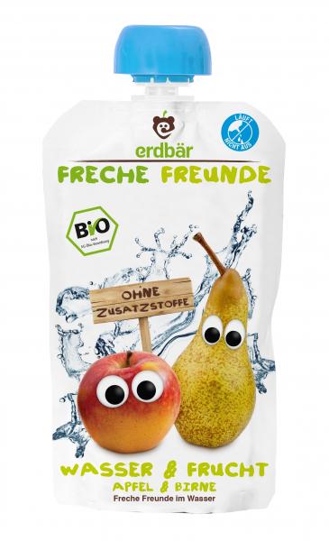Bautura Apa si Fructe cu mere si pere bio 200ml 0