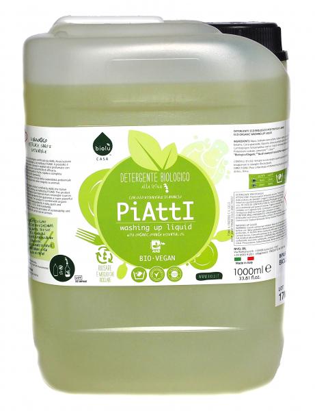 Biolu detergent ecologic pentru spalat vase 5L 0