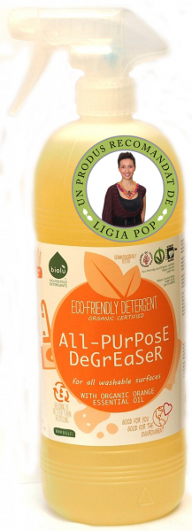 Biolu detergent ecologic pentru uz general cu portocale 1L 0