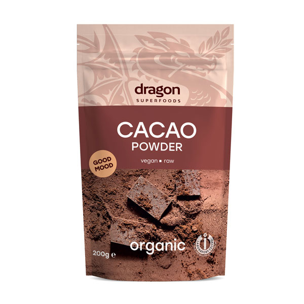 Cacao pudra raw eco 200g [0]