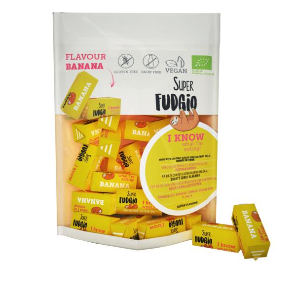 Caramele eco - aroma banane 150g 0