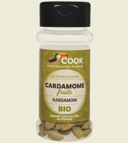 Cardamom intreg bio 25g Cook 0