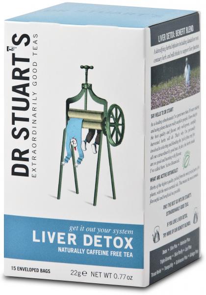 Ceai LIVER DETOX dr. Stuarts 15 plicuri 0