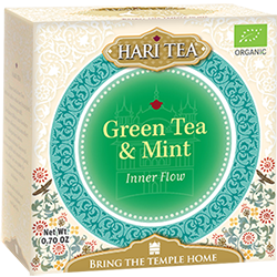 Ceai premium Hari Tea - Inner Flow - ceai verde si menta bio 10dz 0