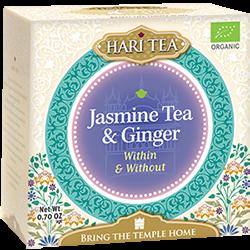 Ceai premium Hari Tea - Within and Without - iasomie si ghimbir bio 10dz [0]