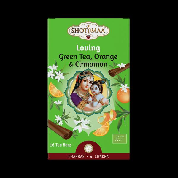 Ceai Shotimaa Chakras - Loving - ghimbir, portocala si scortisoara bio 16dz [0]