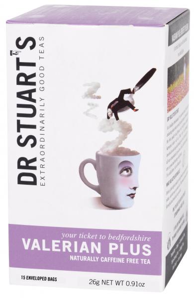 Ceai VALERIAN PLUS dr. Stuarts 15 plicuri 0