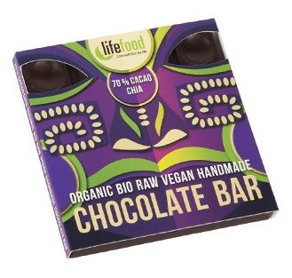 Ciocolata cu 70% cacao si chia raw eco 35g [0]