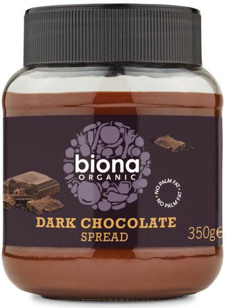 Crema de ciocolata dark bio 350g Biona 0