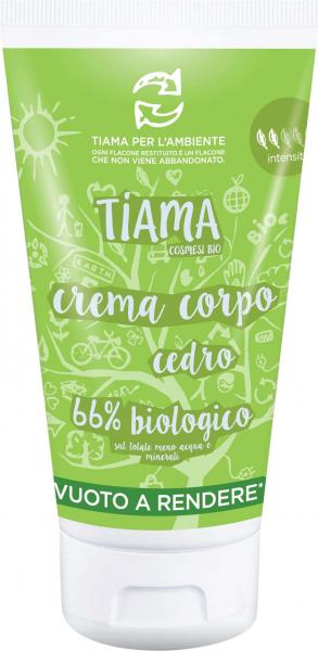 Crema de corp cu lamai salbatic bio 150ml Tiama [0]
