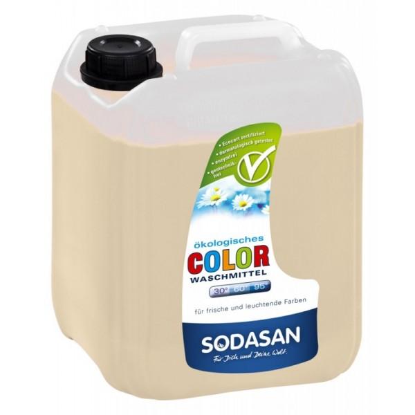 Detergent bio lichid color Lime 5L SODASAN 0