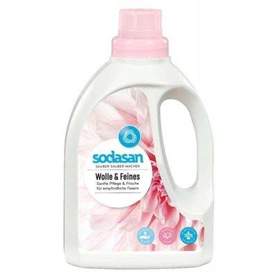 Detergent bio lichid pt. lana, matase si rufe delicata 750 ml Sodasan 0