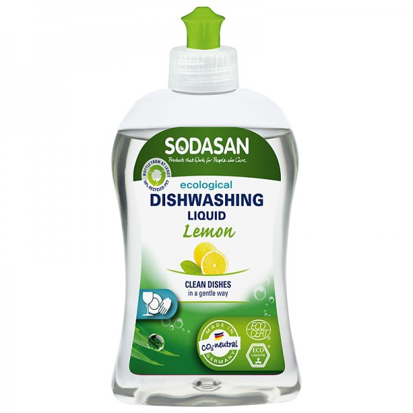 Detergent vase bio lichid lamaie 500ml SODASAN 0