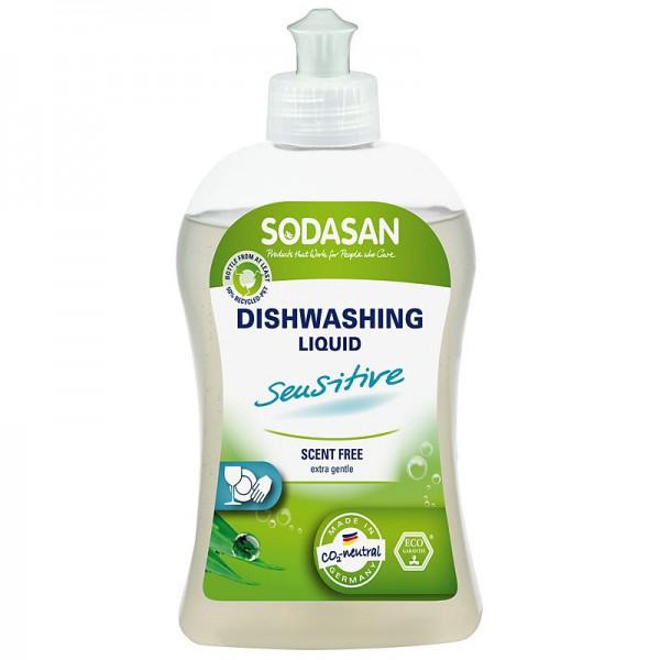 Detergent vase lichid bio Sensitiv 500ml SODASAN 0