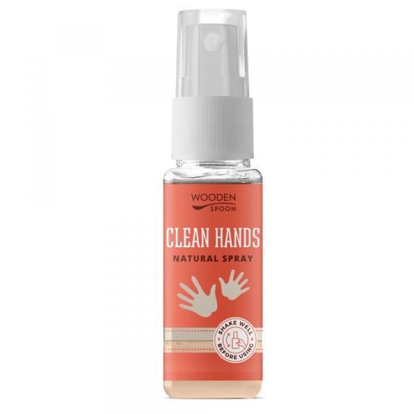 Dezinfectant de maini natural 50ml Wooden Spoon [0]