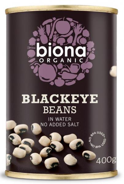 Fasole alba blackeye bio 400g Biona [0]