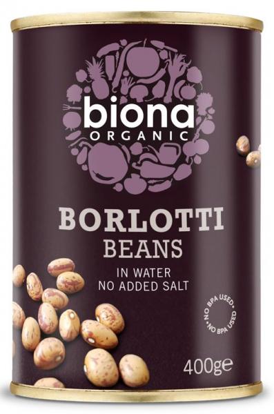 Fasole Borlotti bio 400g Biona [0]