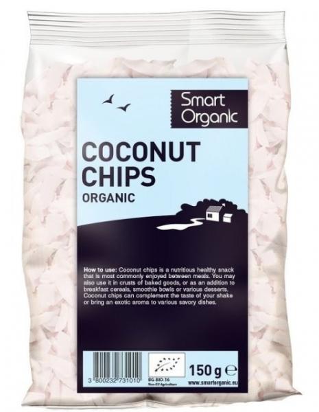 Fulgi raw de cocos eco 150g 0