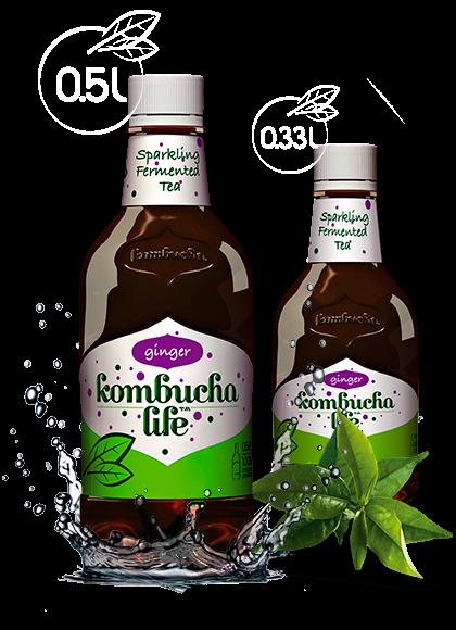 Kombucha Life cu ghimbir 500ml 0