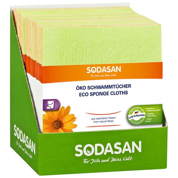 Lavete ecologice pentru curatare 2 buc Sodasan [0]
