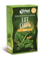 LIFE Chips din Kale raw eco 20g Lifefood 0
