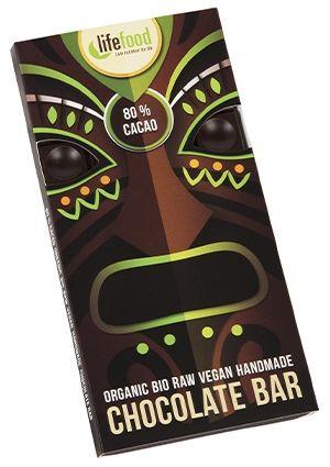 Lifefood ciocolata 80% cacao raw eco 70g 0