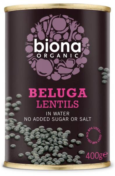 Linte neagra Beluga bio 400g Biona 0