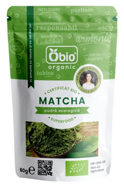 Matcha ceai verde eco 60g OBIO 0