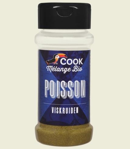 Mix de condimente pentru peste bio 30g Cook [0]