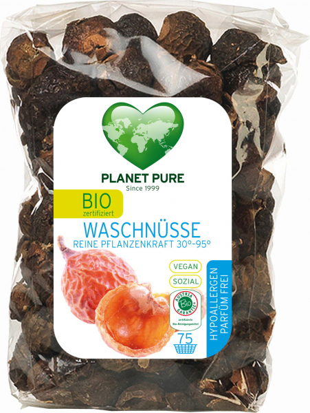 Nuci de sapun bio 350g Planet Pure 0