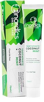 Pasta de dinti anticarie cu cocos si menta bio, 75ml Nordics 0