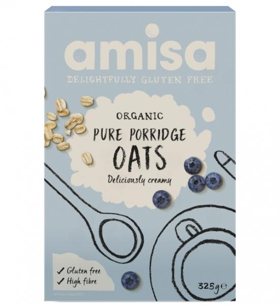 Porridge din ovaz fara gluten eco 325g AMISA [0]