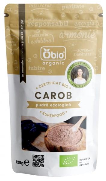 Pudra de carob (roscove) bio 125g OBIO 0