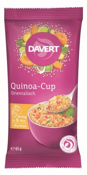 Quinoa cup oriental-style bio 65g DAVERT 0
