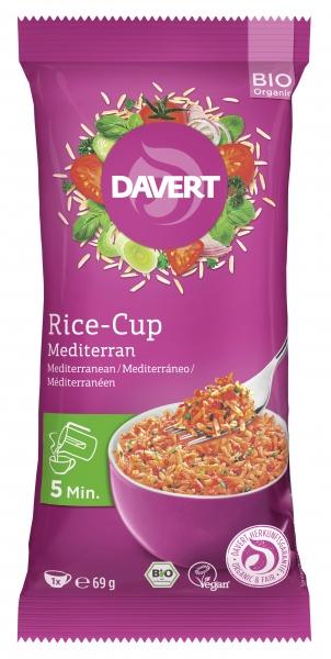 Rice cup (orez) mediteranean bio 69g DAVERT 0