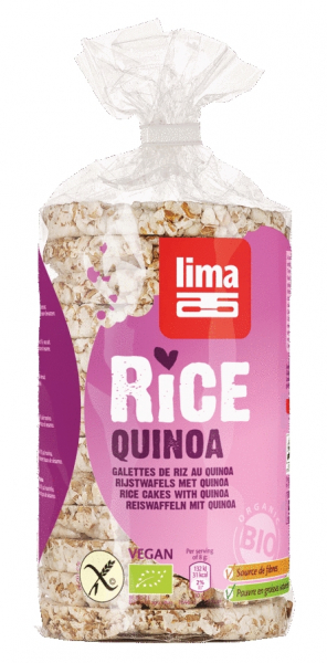 Rondele de orez expandat cu quinoa eco 100g [0]