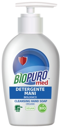 Sapun lichid igienizant pentru maini bio 250ml Biopuro [0]