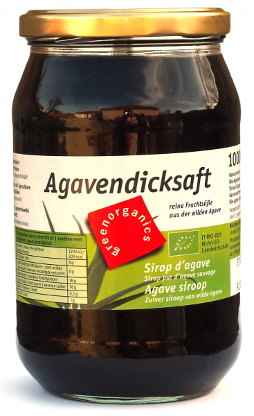 Sirop de agave ecologic 1kg (GreenOrganics) 0