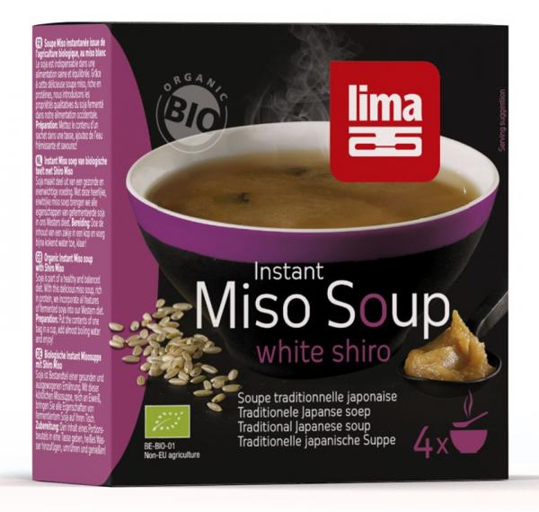 Supa Shiro Miso Instant Eco 4X15G 0