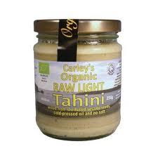 Tahini light raw eco 250g Carley s 0