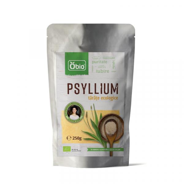 Tarate de psyllium raw eco 250g Obio 0