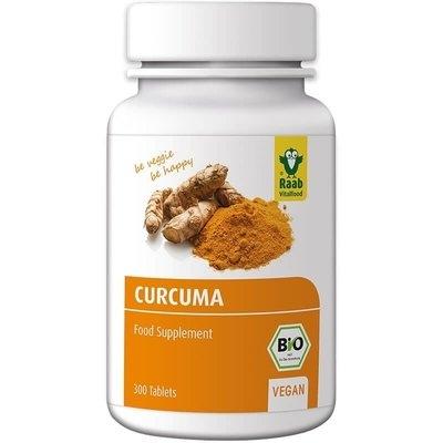 Turmeric (curcuma) bio 300mg, 300 tablete vegane RAAB [0]