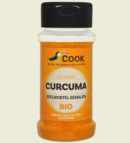 Turmeric pudra bio 35g Cook 0