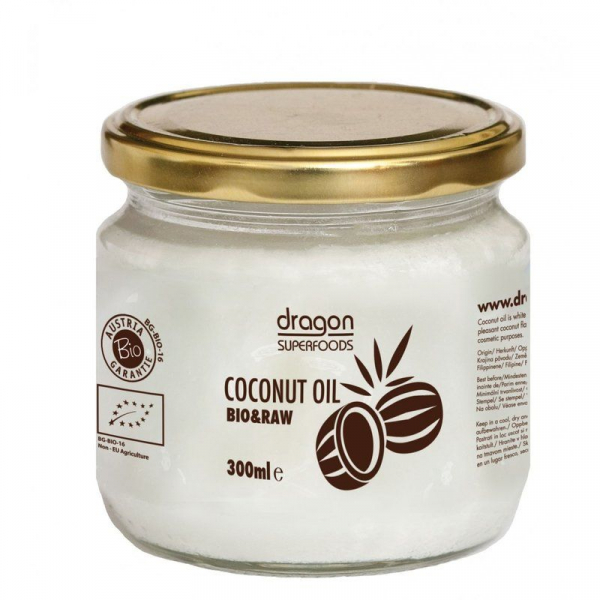 Ulei de cocos extravirgin raw eco 300ml 0