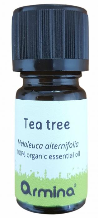 Ulei esential de tea tree (malaleuca alternifolia) pur bio 5ml ARMINA [0]