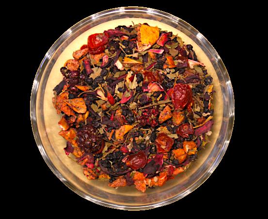 Ceai Forrest Berries, coktail de fructe, 50g 0