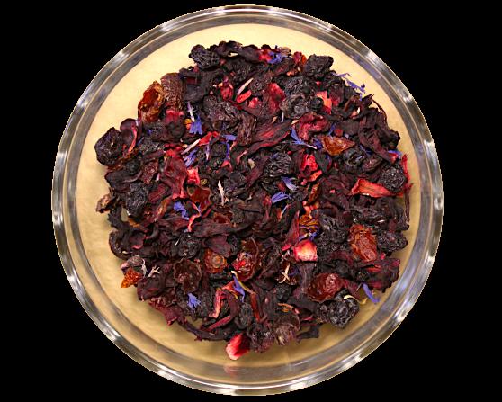 Ceai Icy Quencher, coktail de fructe, 50g 0