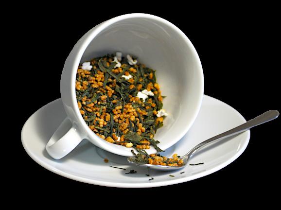Ceai Japan Genmaicha , coktail de ceai verde si orez prajit si expandat, Japonia, 50g 1