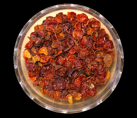 Ceai Rosehip Shells, 100% macese din trandafir salbatic uscate, 50g 0