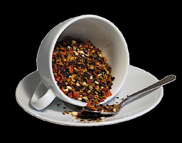 Ceai Strawberry Fields, coktail de fructe, 50g 1